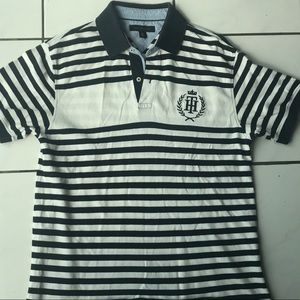 Tommy Hill figure vintage polo